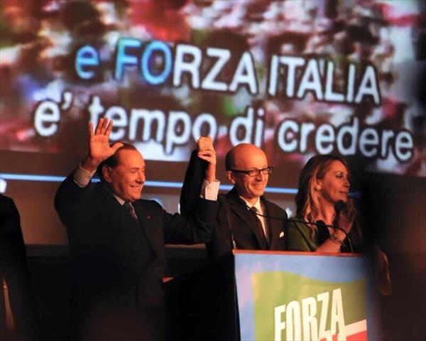 Berlusconi al Lyric di Assisi