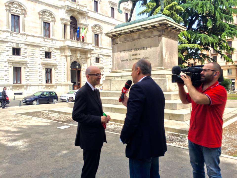 Intervista a Rai Due